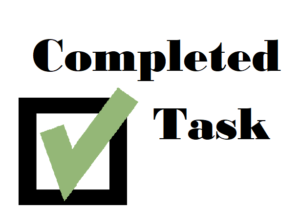 Completed Task Logo